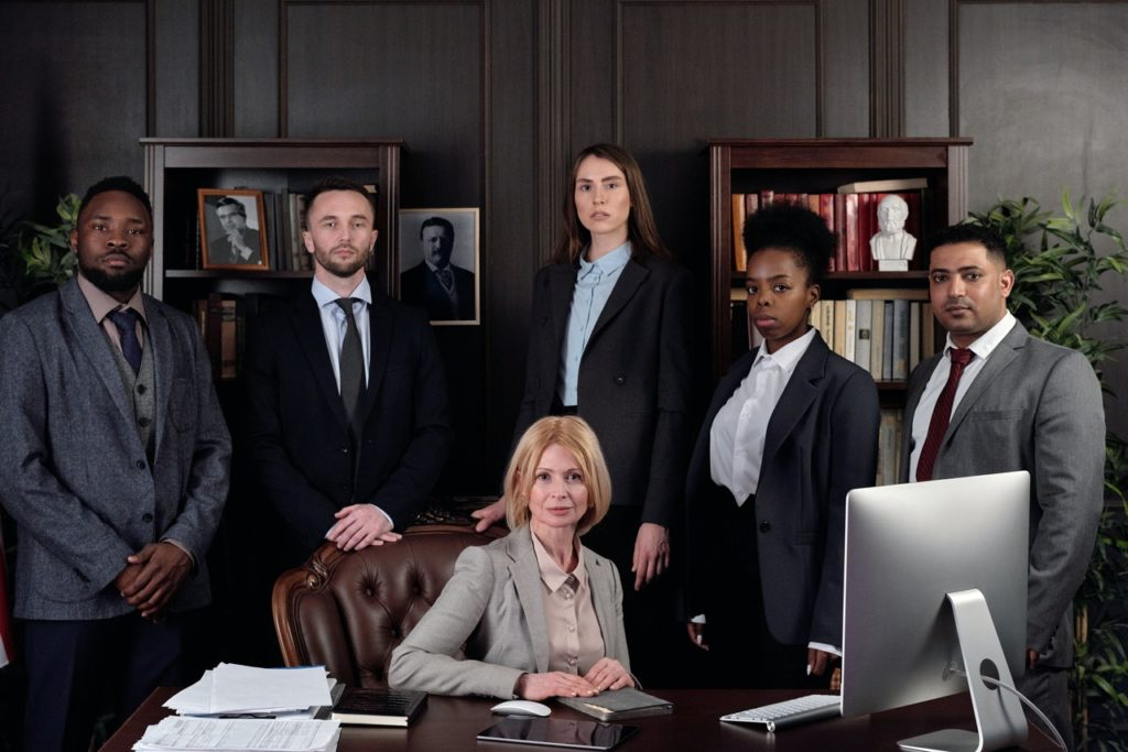 lawyers from a firm