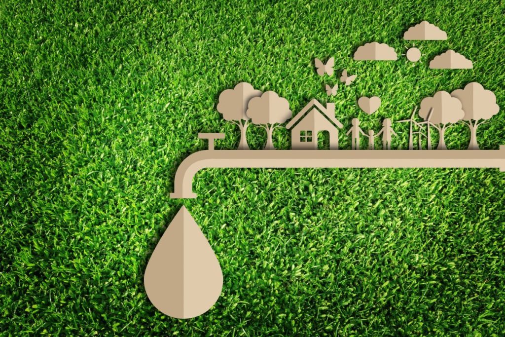 sustainable living concept