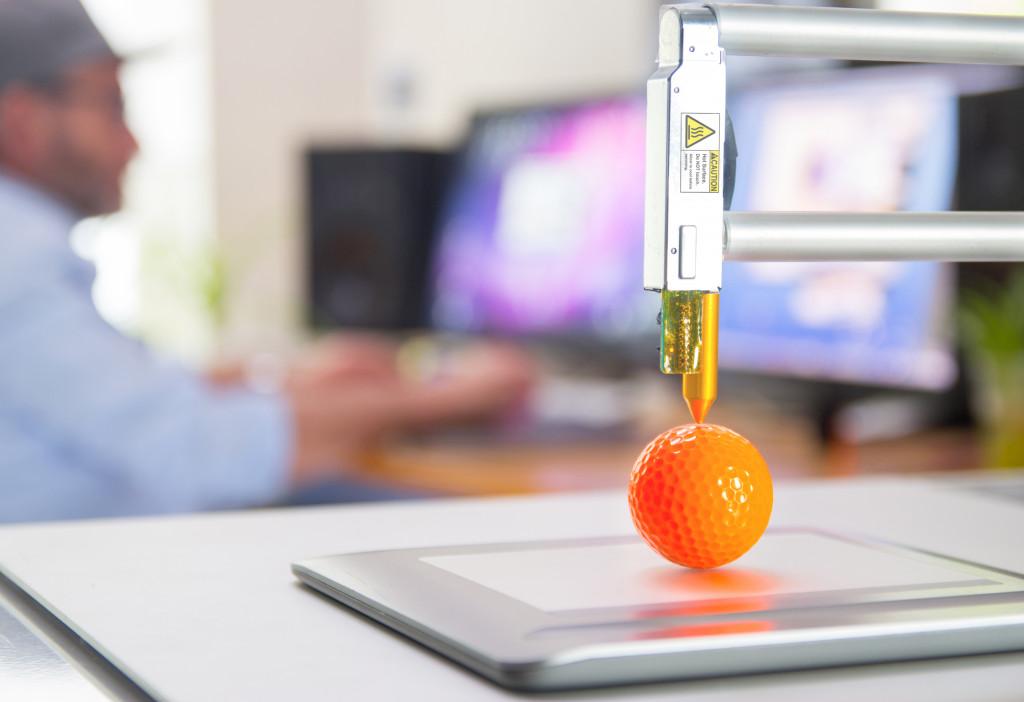 3d printing a golf ball
